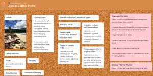 Jelena's Interactive Learner Profile